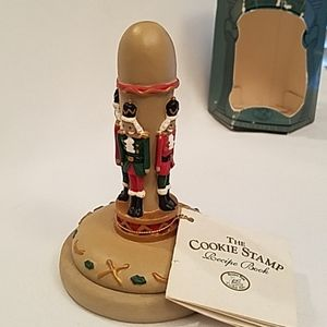 NIB 1995 Brown Bag Cookie Stamp NUT CRACKER #14